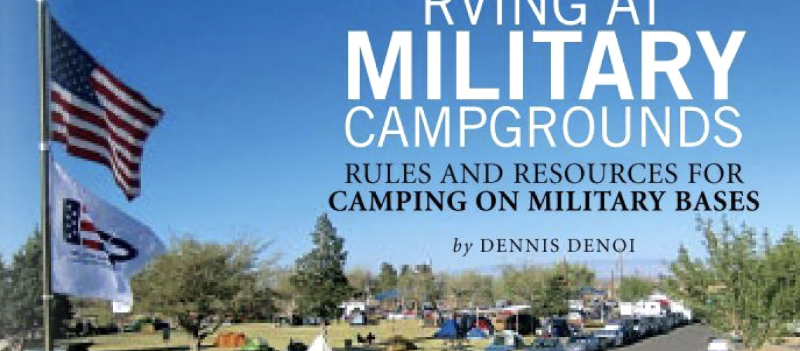 RVing at Military Campground Flyer